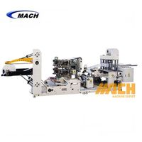 High Speed Automatic Napkin Tissue Paper Embossing Printing Folding Making Machine