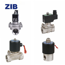 Stainless Steel Direct Action 2WB Series Solenoid Air Valve