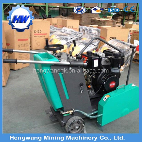 Wholesale price HW500 asphalt/concrete cutter saw machine