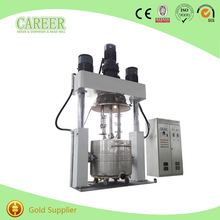silicone rubber double shaft paddle planetary mixer
