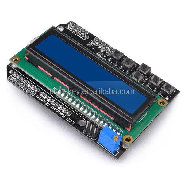 1602 lcd keypad shield module display for arduino