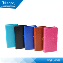 Veaqee fancy leather universal flip phone cover case for samsung galaxy s4 s5