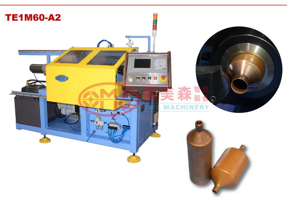 CNC tube end closing forming spinning machine