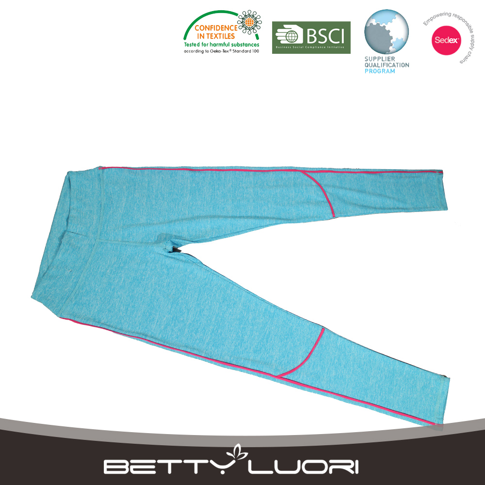 Popular sport legging blue for women