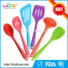 2016 kitchen accessories fruit ice cream cooking silicone kitchen utensil set