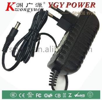12V1A ac dc adapter with CE UL certification