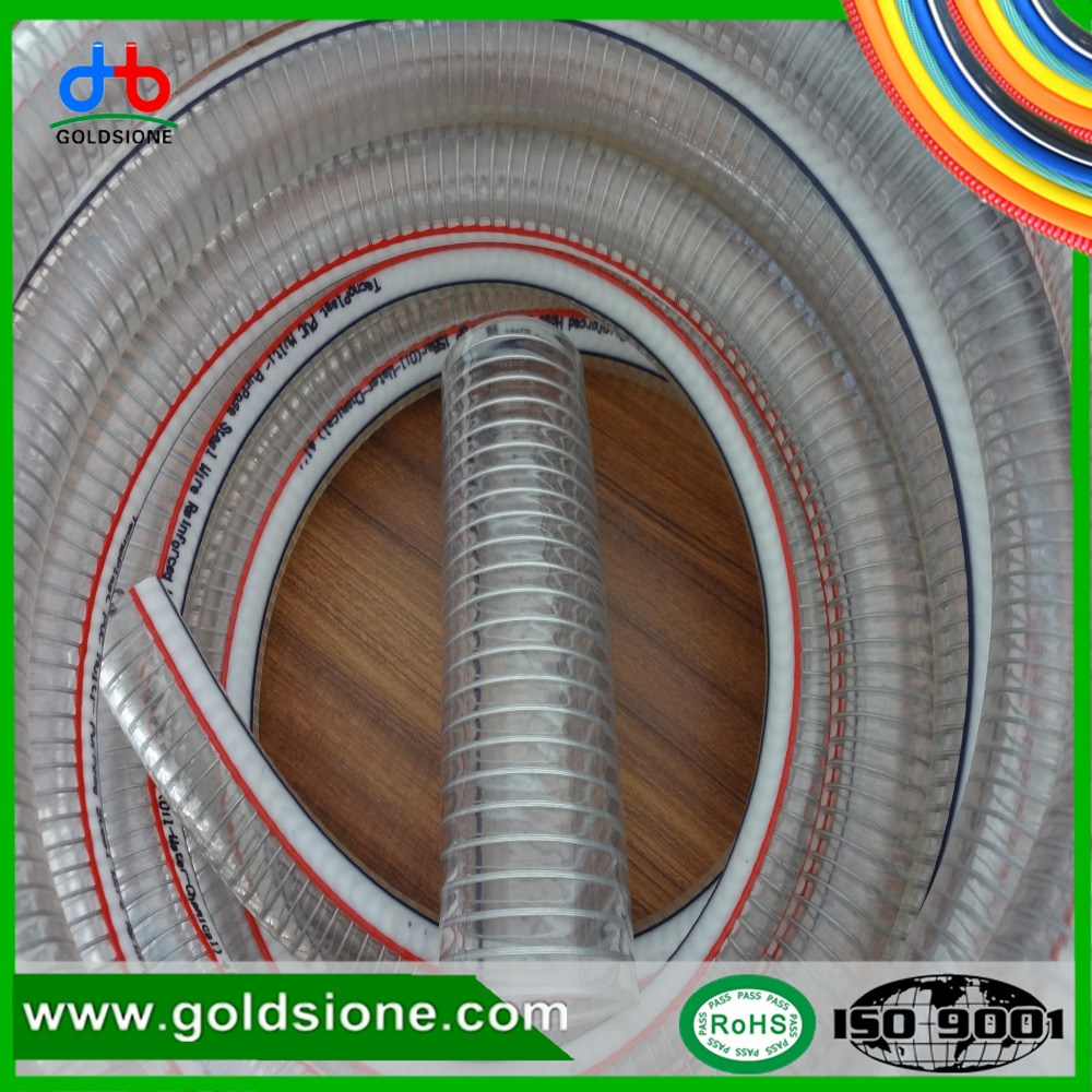 17mm Pump PCV Spring Reinforced Suction Hose