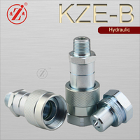 KZE-B 700 bar hydraulic jack thread to connect hydraulic oil quick coupling
