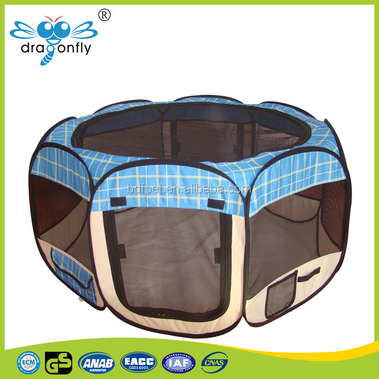 Cheap outdoor foldable pet dog playpen