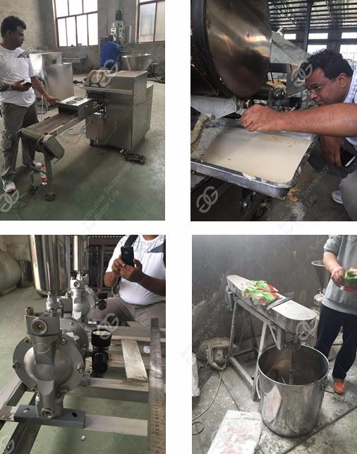 GELGOOG Brand Hot Sale Injera Pastry Sheet Making Spring Roll Wrapper Machine With Manufacture Price