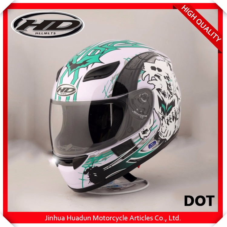 Factory wholesale full face Cheap motorcycle HD-07B racing helmet with competitive price