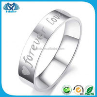 Fashion Jewelry Name Carved Rings