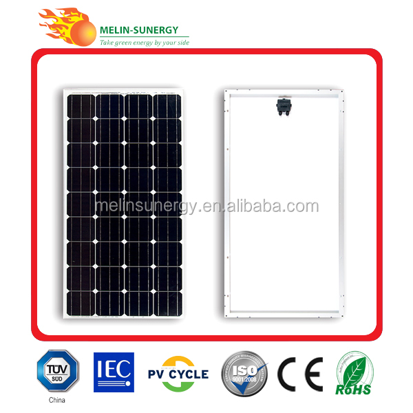 Cheap 80w monocrystalline solar panel most efficient solar panel made in china