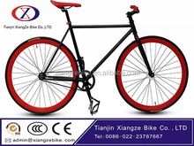 China Manufacture 700C Vintage Style Single speed Fixed gear bike