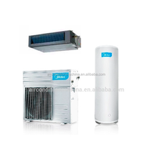 Heat recovery air conditioning with hot water