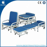 BT-CN002 Hot sales!!! High quality Companion hospital sofa bed