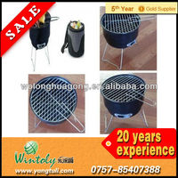 Barbecue bucket powder coating