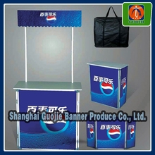 Flexible KT board Promotion Table, ABS board Promotion Counter