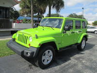 USED CARS - JEEP WRANGLER UNLIMITED SAHARA - DEMO VEHICLE (LHD 819486)