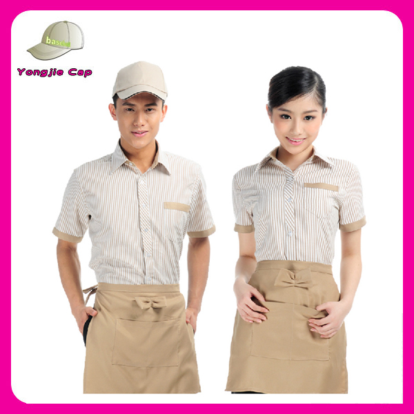 Chinese restaurant hotel staff waiter uniform housekeeping