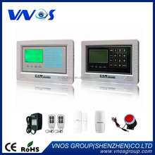 Excellent quality classical gsm home security alarm system agent