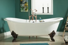 Classic Cast Iron Clawfoot Tubs With Feet