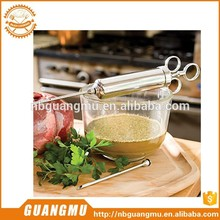 baster meat saline injector with bone machine flavor injector metal