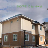 china cheaper luxury prefabricated houses prices low cost prefab villa for sale modular, prefabricated house