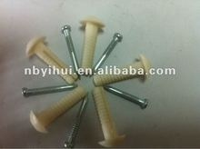 plastic concrete anchor with nail
