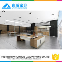 Fancy MDF working office director table wooden furniture CEO desk