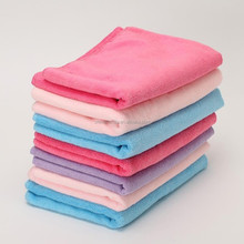 China supplier microfiber water absorbent mixed color hair towel for car kitchen tea towelJF44