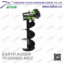 Agricultural powered petrol excavator digging machine for digging trees