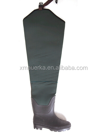 Camouflage neoprene fishing boots