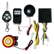 bike alarm remote start/alarm system motorcycle/remote start motorcycle alarm