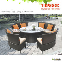 Outdoor Rattan Furniture With Table And Chair