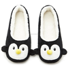Penguin plush ladies slippers animal shoes winter ballerina style house slipper