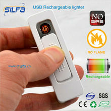 Silfa newest USB rechargeable electronic usb lighter latest gift items