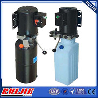 hydraulic unit and hydraulic powerunit for auto lift