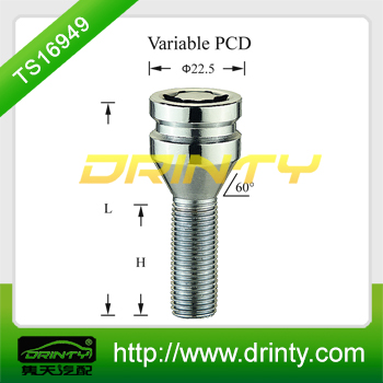 security wheel lock nut bolt