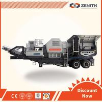 Hot sale mobile primary crusher, Zenith rock shaping machine