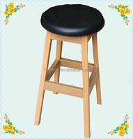 wholesale high quality leather plastic furniture bar stool chair