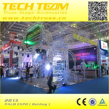 PALM EXPO 2013 BeiJing exhibition booth truss system