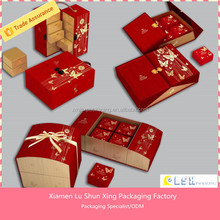 design paper packaging gift box mooncake container