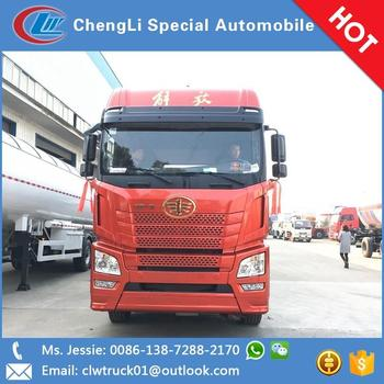 Factory price three axle lpg gas tanker lpg Traction semi-trailer for sale