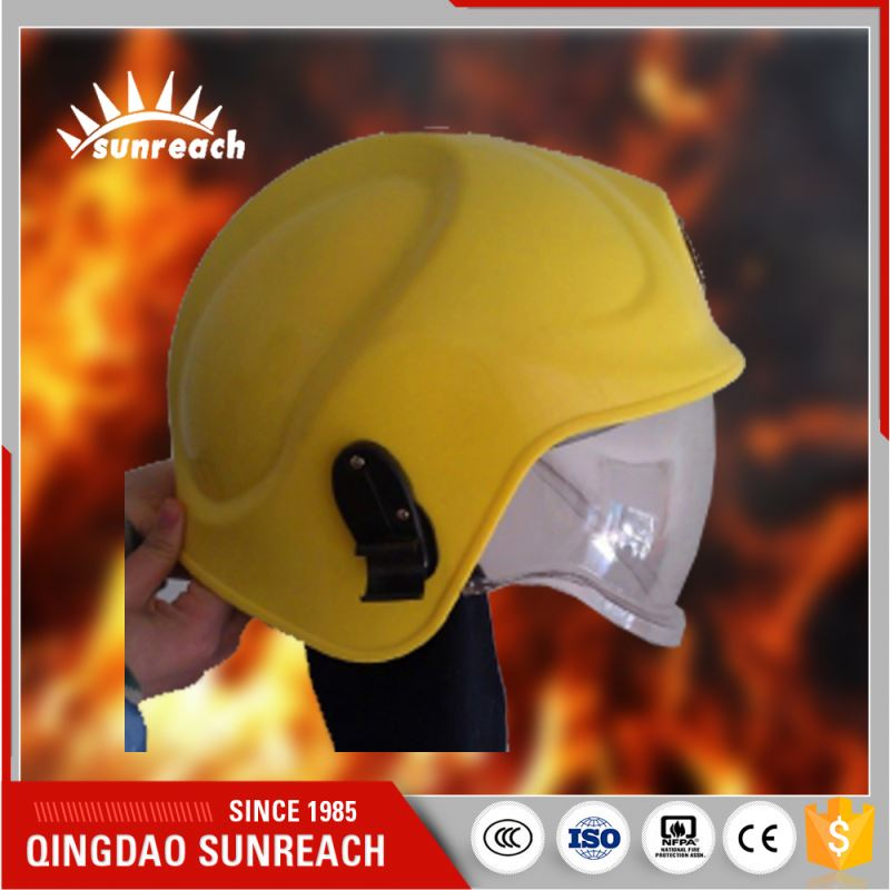 Protective Cheap Fire Fighting Helmets