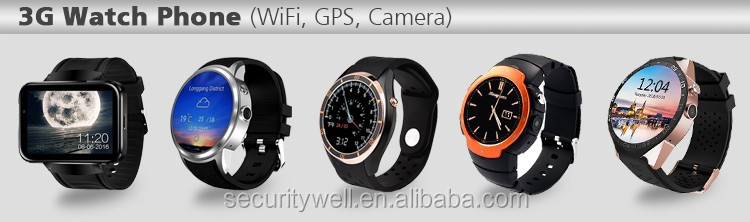 Waterproof GPS Android WiFi Whatsapp Watch phone