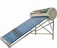 Unpressurized BEARING Solar Water Heater drawing