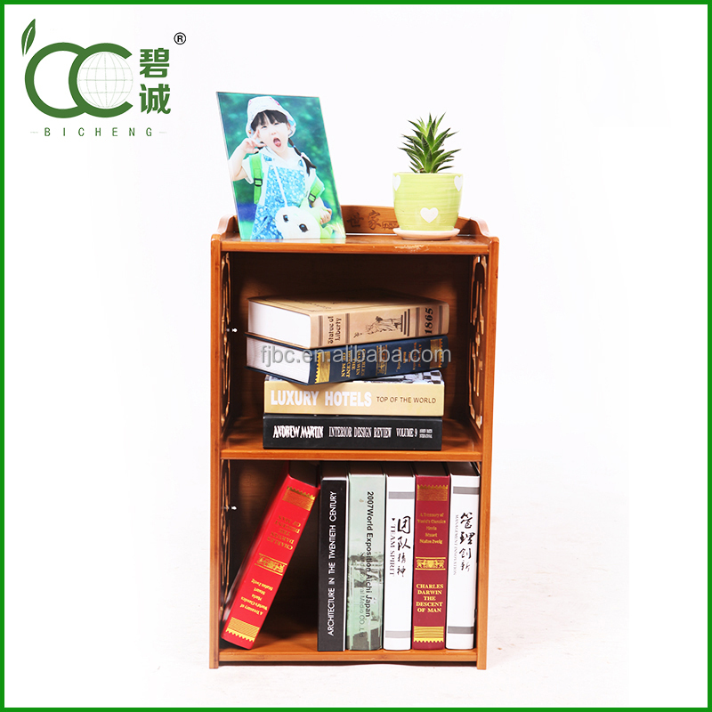 bookcase furniture 2-tier book shelf used library bookcases