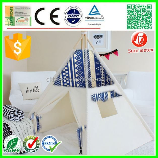 Hot sale pre-sell teepee tent kids factory