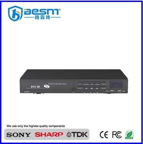 Besnt hd DDNS 8ch cctv dvrs hdmi 8ch H.264 security dvr BS-H08C